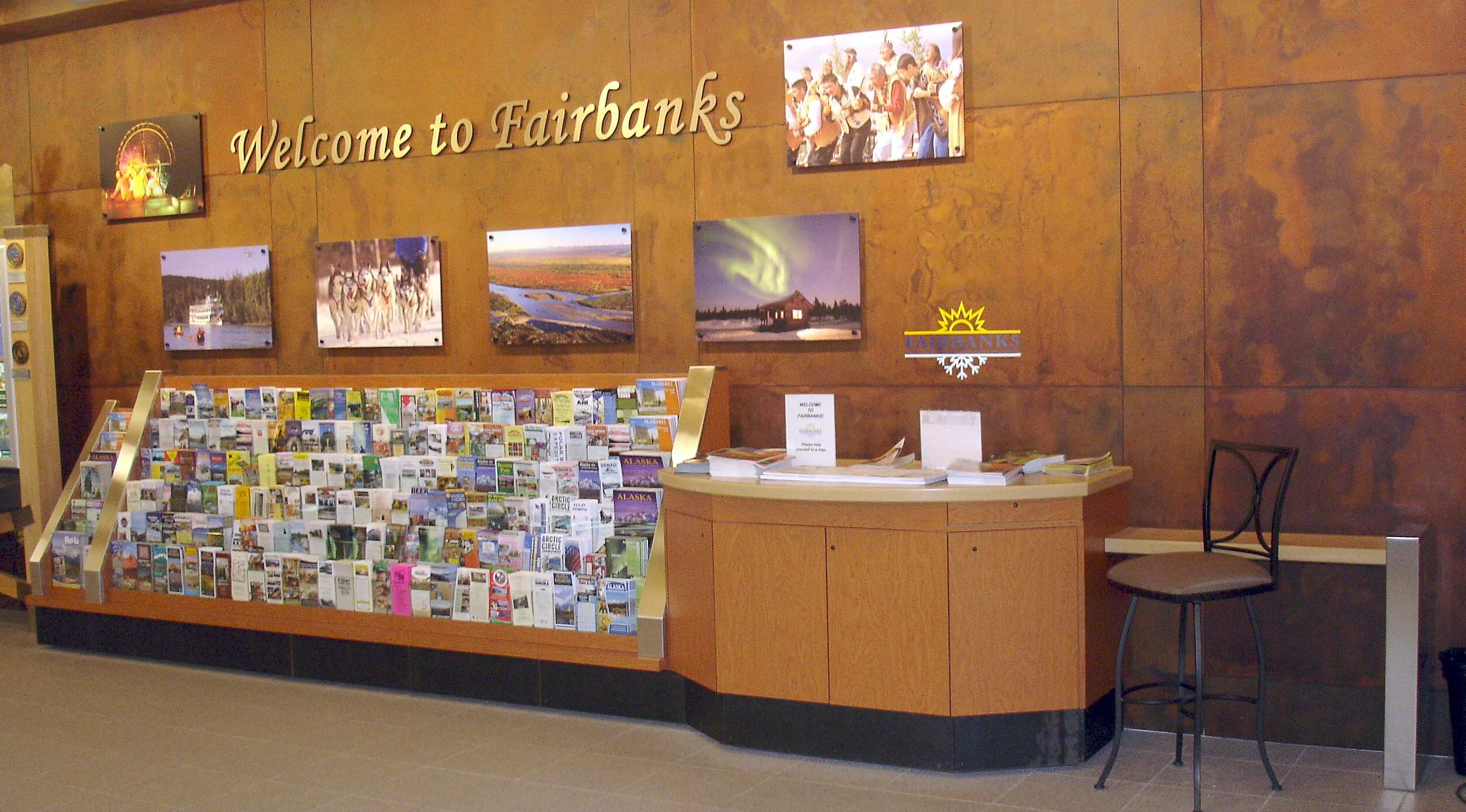 FVCB Welcome Desk